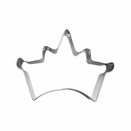 Prenses Kraliçe Tacı Kurabiye Kalıbı 8x5cm Toptanpastamalzemeleri